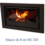 Marco Cerrado Pintado 8 Stylo MC-8-HS